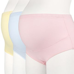 Tiffie - Set of 3: Maternity Panties