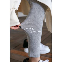 PPGIRL - Cotton Plain Leggings