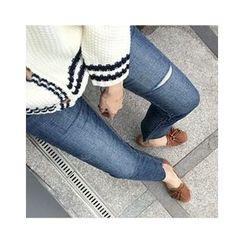UPTOWNHOLIC - Frey-Hem Skinny Jeans