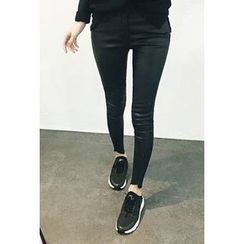 ATTYSTORY - Flat-Front Skinny Pants