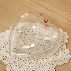iswas - Transparent Heart Case Gift Box