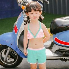 Goldlyre - Kids Set: Swim Top + Swim Shorts + Jacket
