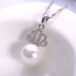 Zundiao - Sterling Silver Crown Pendant