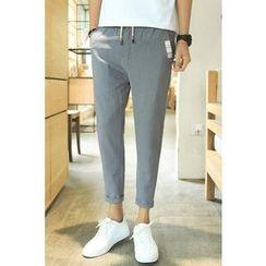 Alvicio - Drawstring Tapered Pants