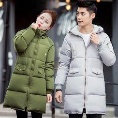 Tabla - Couple Matching Hooded Padded Coat