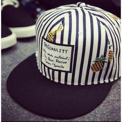 BYME - Printed Stripe Baseball Cap