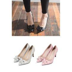 migunstyle - Pointy-Toe High-Heel Pumps