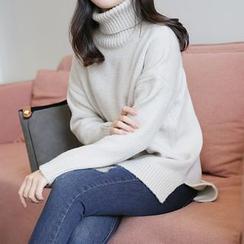 CLICK - Turtleneck Knit Sweater