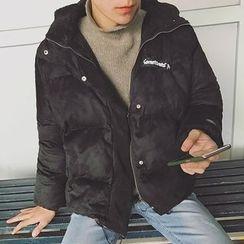 子俊 - 抓毛连帽大衣