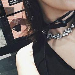 ChuChuAcc - Rhinestone Necklace