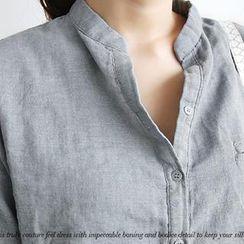 NANING9 - Cotton Washed Shirt