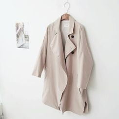 L.MAZEL - Double-Breasted Trench Coat