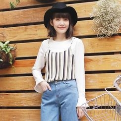 Tokyo Fashion - Inset Camisole Pullover