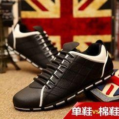 Easy Steps - 配色帆布休閒鞋