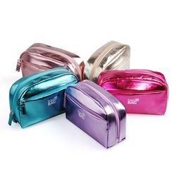 Bag In Bag - Metallic Cosmetic Bag