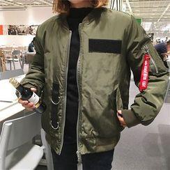 Chililala - Lettering Bomber Jacket