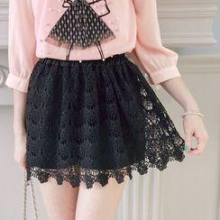 Tokyo Fashion - Lace Pleated Skort