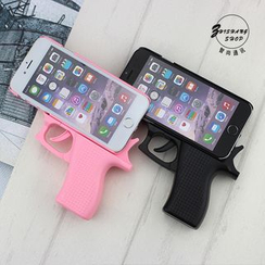 Cartoon Face - Gun Mobile Case - Apple iPhone 5 / 6 / 6 Plus