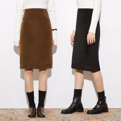 Heynew - Plain Knit Skirt