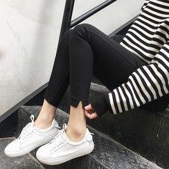 A7 SEVEN - Slit Skinny Pants