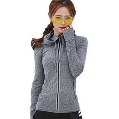 AT NINE - Hooded Zip Jacket