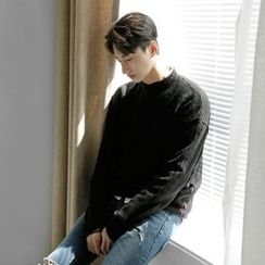 Seoul Homme - Mock-Neck Sweater