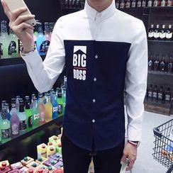 Bloemen - Color Block Shirt