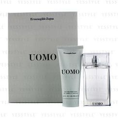 Ermenegildo Zegna - Uomo Coffret: Eau De Toilette Spray 50ml/1.7oz + Hair and Body Wash 100ml/3.4oz