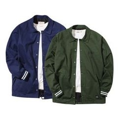 Seoul Homme - Colored Button-Front Jacket