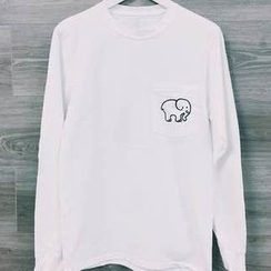Flobo - Long-Sleeve Printed T-Shirt
