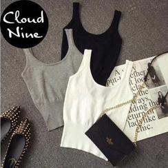 Cloud Nine - Cropped Tank Top