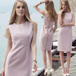 艾尚臣 - 無袖修身連衣裙