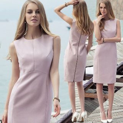 Aision - Sleeveless Sheath Dress