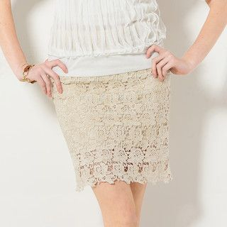 YesStyle Z - Crochet Pencil Skirt