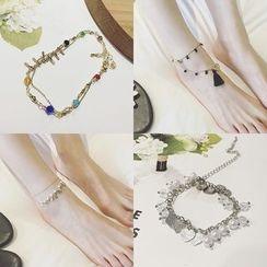 L for Love - Anklet (Various Designs)
