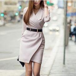 Aurora - Long-Sleeve Dress