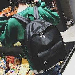 Youme - Cross Embroidered Backpack
