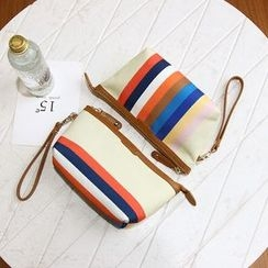 Bagalore - Striped Cosmetic Bag