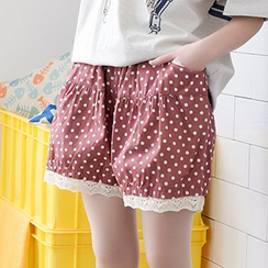 Moriville - Dotted Shorts