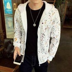 Y!SHIER - Printed Hooded Jacket