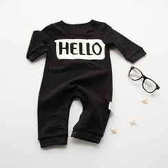 MOM Kiss - Baby Lettering One-Piece