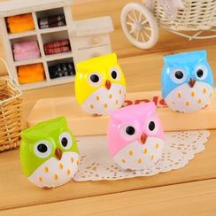 Red Unicorn - Owl Pencil Sharpener