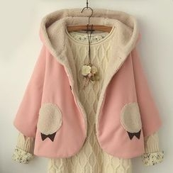 Suzette - Hooded Cape Jacket