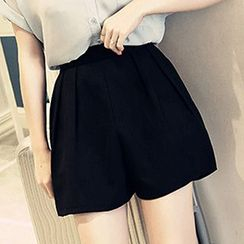 Isadora - 高腰寬腿短褲