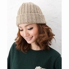 ESCOBARIA - Wool-Blend Cable-Knit Beanie