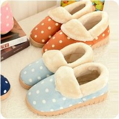 Good Living - Fleece-lined Home Slippers