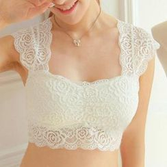 camikiss - Lace Panel Camisole