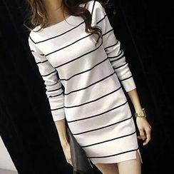 FR - Stripe Knit Tunic