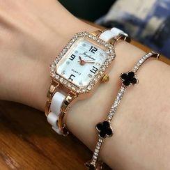 TimMac - Rhinestone Bracelet Watch