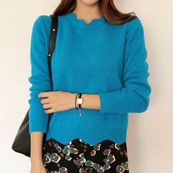 WITH IPUN - Wool Blend Sweater